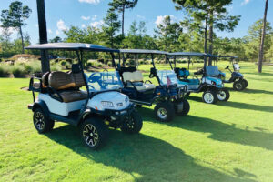 Enjoy our golf cart friendly community.